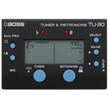 Boss TU-30 Tuner & Metronom Afinador