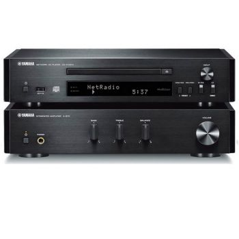 Yamaha MCR-N670 Black Sin altavoces