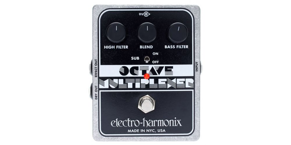 electro harmonix xo octave multiplexer 3