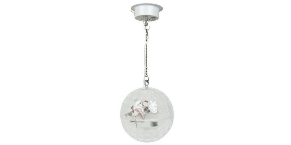led glass ball lightside