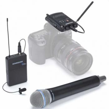 Samson CONCERT88 CAMERA COMBO (F) Micrófono Inalámbrico para Cámara
