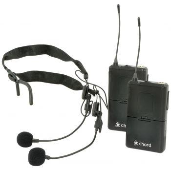 CHORD NU2N Microfono Inalambrico doble de Diadema 171976