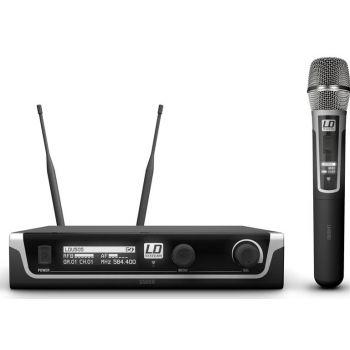 LD SYTEMS U505 HHC Sistema inalámbrico con Micrófono de Mano