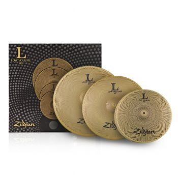 ZILDJIAN LOW VOLUME L468 Set Platos