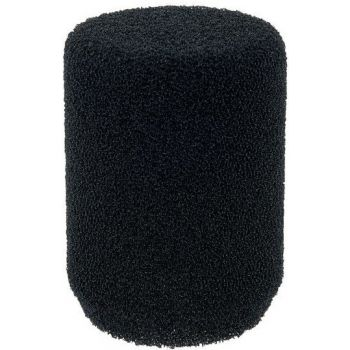 SHURE A85WS Paravientos Cilíndrico para SM58 y otros microfonos negro