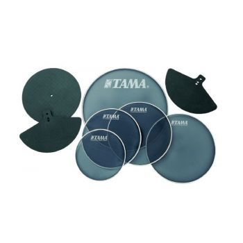 Tama SPP518 Kit parche malla + sordinas platos para batería Jazz
