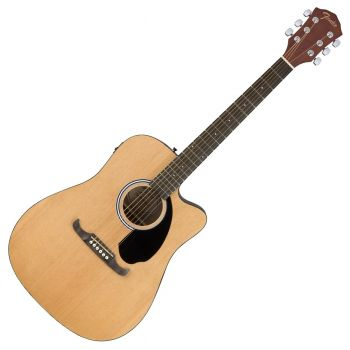 Fender FA-125CE Dreadnought Natural Acústica