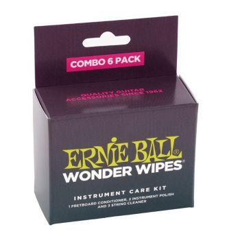 ERNIE BALL 4279 LIMPIADOR GUITARRAS COMBO PACK  Caja 6 Un.