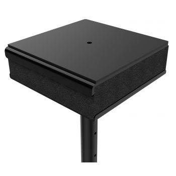 Audibax Neo SM20 Soporte Altavoces Monitores Suelo Regulable con Pad Aislamiento