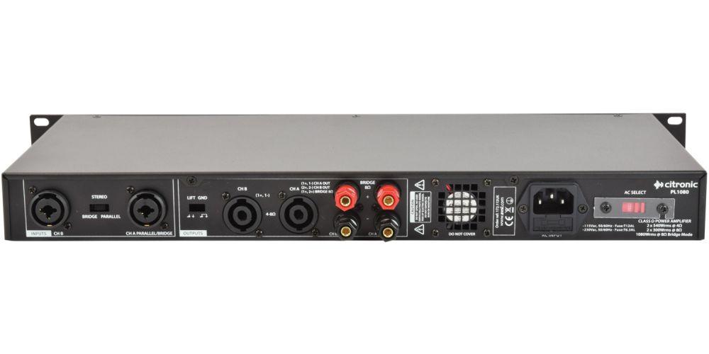 amplificador CITRONIC PL 720