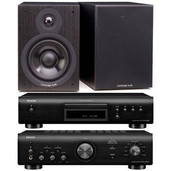 Denon PMA-600 NE Black+DCD-600 Black+Cambridge Audio SX-50 Black Conjunto Audio