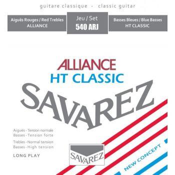 Savarez 540ARJ Standard-High Tension Set de cuerdas Guitarra Clasica