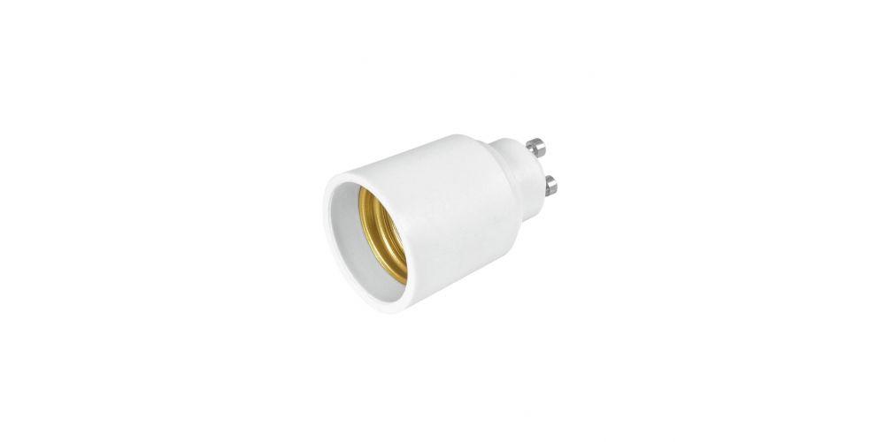 eurolite adaptador gu 10 a e 27 comprar