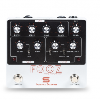 Seymour Duncan FOOZ Analog Fuzz Synthesizer Pedal de Modulación