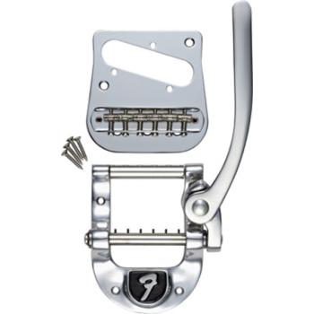 Bigsby Kit de Vibrato de Modificación B5 Telecaster Chrome Logotipo Fender