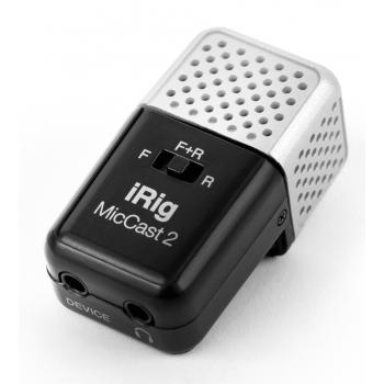 IK Multimedia iRig Mic Cast 2 Microfono Compacto para Smartphone