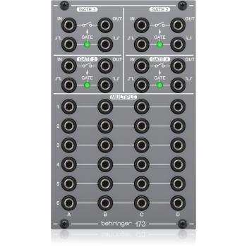 Behringer 173 QUAD GATE/MULTIPLES Modulo Sintetizador Eurorack