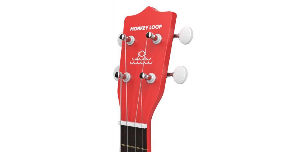 monkey loop play rd ukelele soprano red headstock