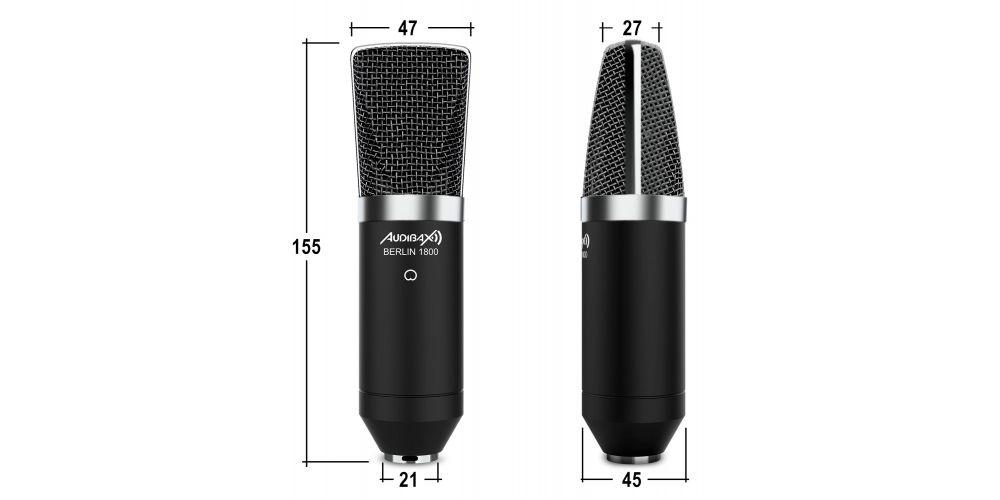 audibax microfono estudio