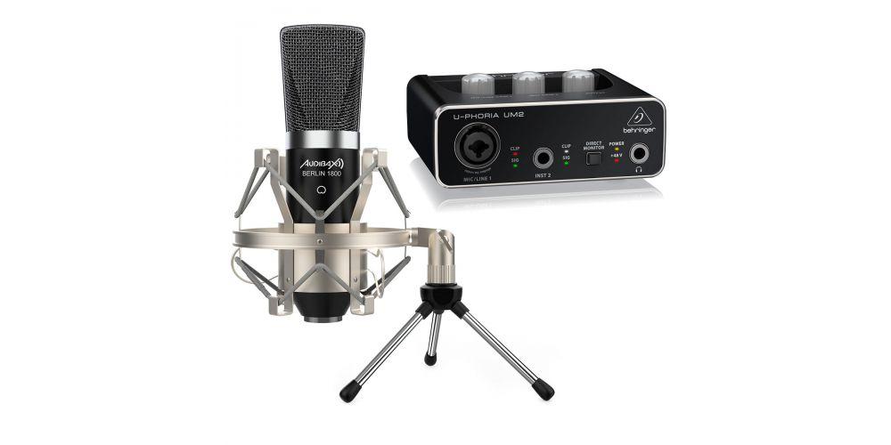 microfono gran diafragma audibax
