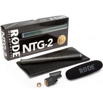 Rode NTG2 Micrófono de condensador direccional