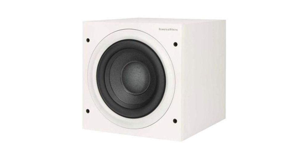 bw asw608 white subwoofer