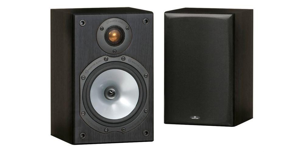 monitor audio mr1 black altavoces 2 vias