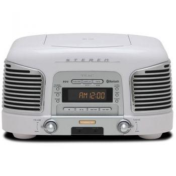 TEAC SL-D930W Micro Cadena Retro, Blanco