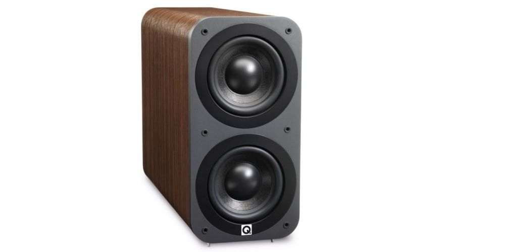 q acoustics q3070 walnut