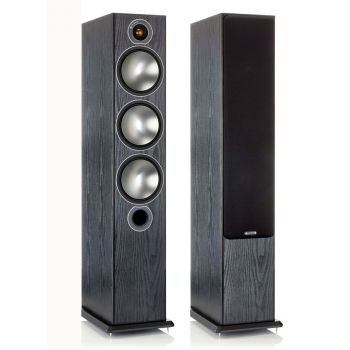 MONITOR AUDIO BRONZE 6 Black Pareja