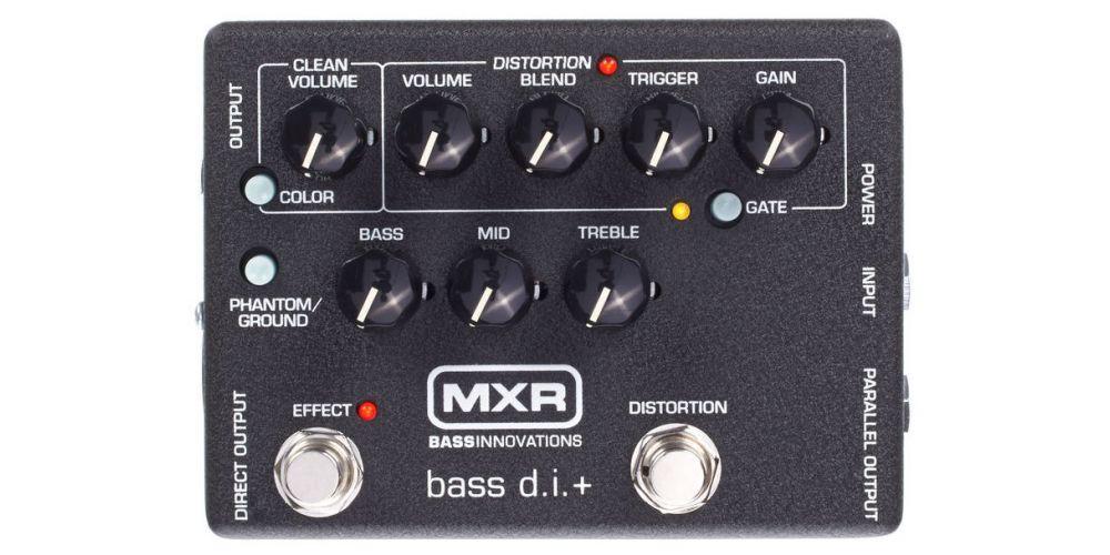 dunlop mxr m80 bass di plus front