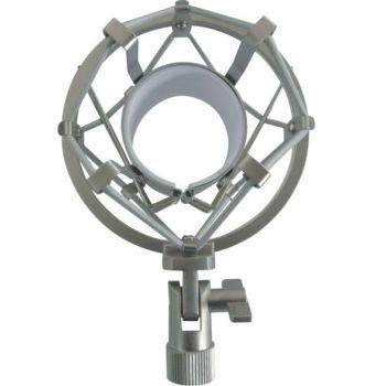 Araña para Microfono 46 - 48 mm, Silver -MH