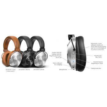 PIONEER SEMS7BT-T Auriculares Bluetoot Marrones