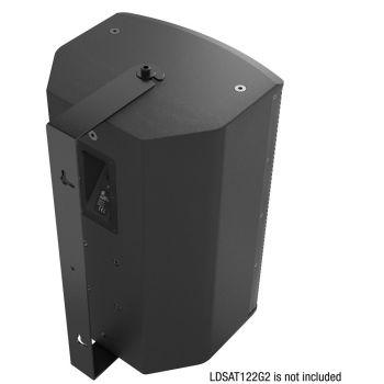 LD Systems SAT 122 G2 WMB Soporte de Pared Giratorio para SAT 122 G2 Color Negro