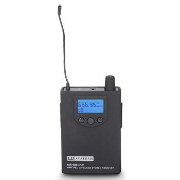 LD Systems MEI 100 G2 BPR B 6 Receptor para Sistema de Monitoraje In-Ear Banda 6