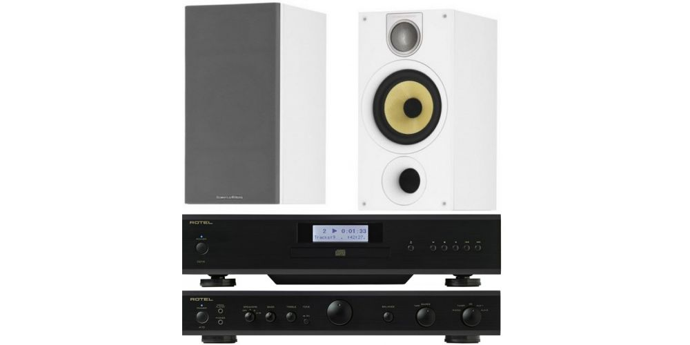 Rotel A10 Black CD14black bw 686white