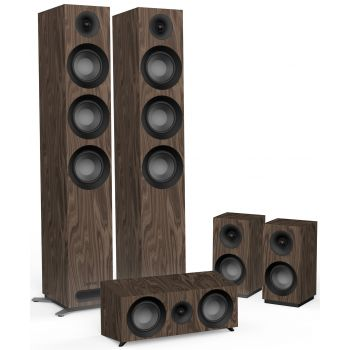 Jamo S809 HCS Walnut Altavoces Home Cinema 5.0