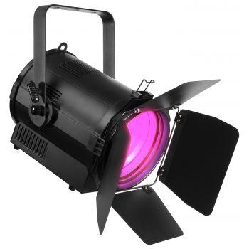 Beamz BTF-200CZ Fresnel Foco Teatro Zoom 200W RGBW LED DMX 3200K 151380