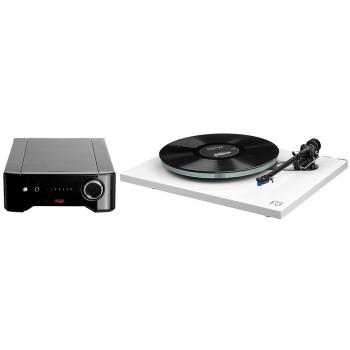 REGA Planar 3 White+Rega Brio Conjunto Audio