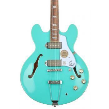 Epiphone Casino Turquoise Guitarra Eléctrica