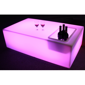AFX LED SQUARE PARTY TABLE Mueble con Led