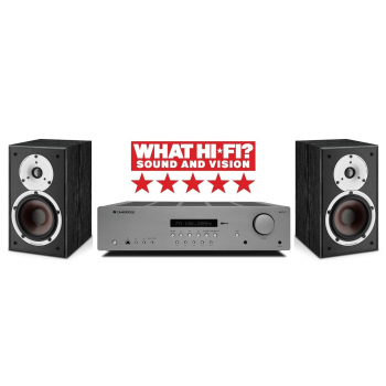 Cambridge Audio AXR85+Spektor2 BK Conjunto Audio