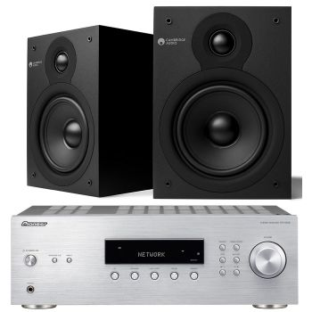 PIONEER SX-10AE-S, Receptor Estéreo Bluetooth 100+100 W + Cambridge SX50 MATT