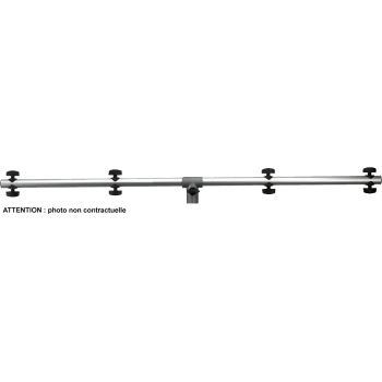 Quik Lok S191-15 Negra Barra de Montaje para Focos