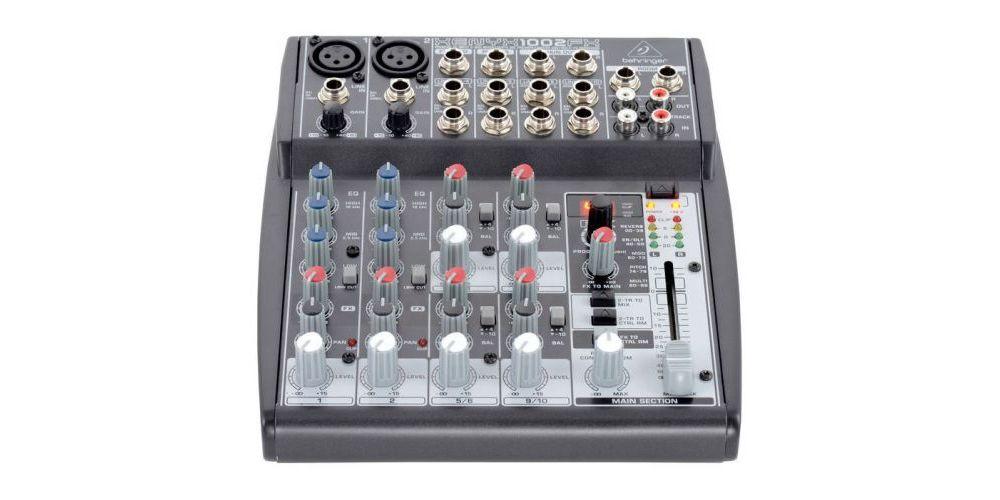 behringer 1002fx mezcladora front