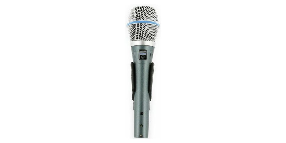 SHURE BETA 87 A Micrófono condensador vocal  BETA87A