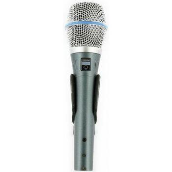 SHURE BETA 87 A Micrófono condensador vocal  BETA87A