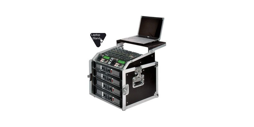Walkasse WRM-8U-LTS Rack 8 Unidades con Top Mixer