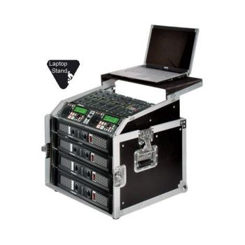 Walkasse WRM-8U-LTS Rack 8 Unidades con Top Mixer