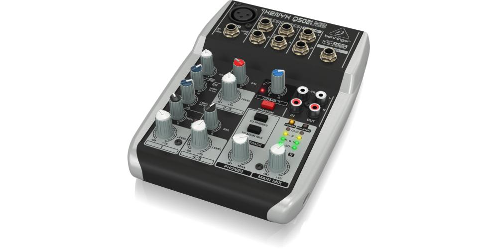 behringer Q502USB mezclador